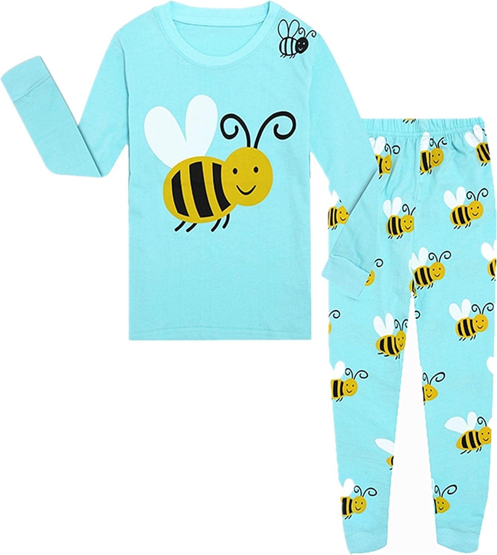 Tkala Fashion Pajamas for Girls Children Clothes Sets 100/% Cotton Little Kids Pjs Sleepwear
