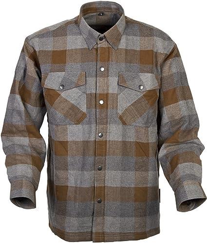 1d587e6c Amazon.com: Scorpion Covert Flannel Reinforced/Kevlar Lined Protective  Shirt (Tan/Brown, X-Large): Automotive