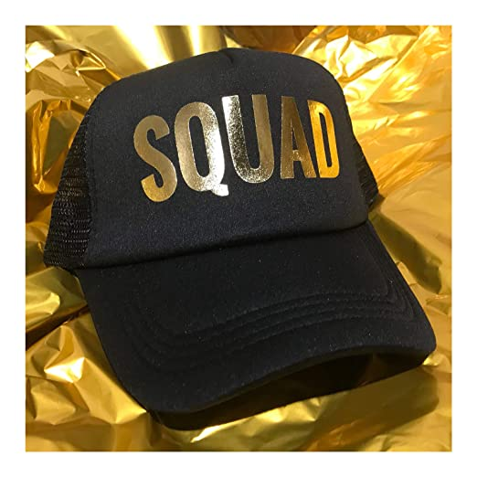 30dacf7d2d1f9 Image Unavailable. Image not available for. Color  Squad Hat Bachelorette  Party Bride Hats Wedding Tribe ...