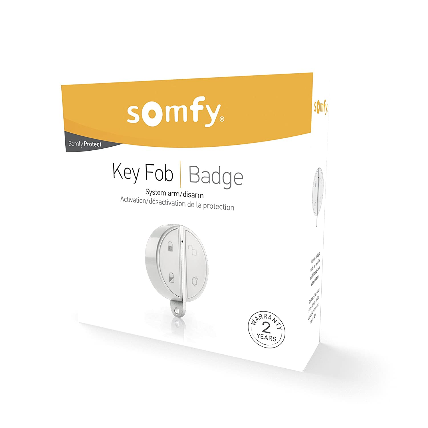a770e7faa SOMFY - Key Fob Wireless Remote | 4-Button Remote | Bluetooth Technology |  Compatible with Somfy One or Somfy Home Alarm | 1-Year Battery Life | Easy  to Use ...