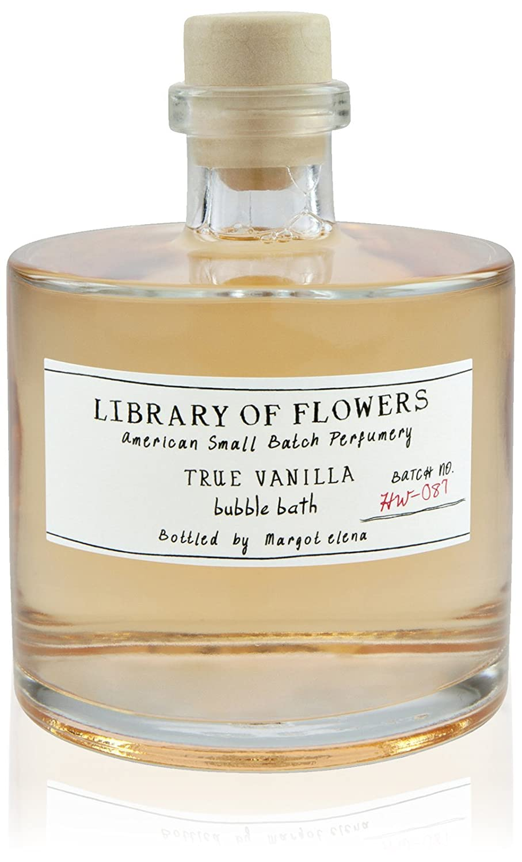 Library of Flowers Bubble Bath-True Vanilla 17R4