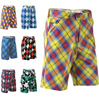 Royal & Awesome Plaid Awesome - Pantalones Cortos