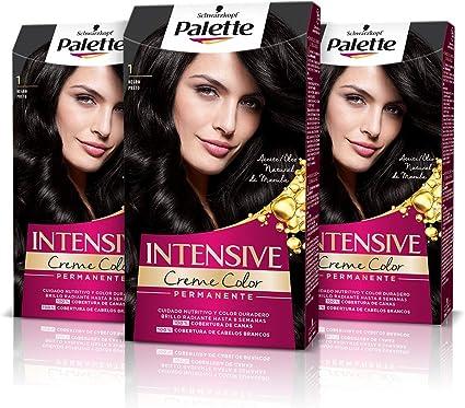 Schwarzkopf Palette Intensive Creme Color - Tono 1 cabello ...