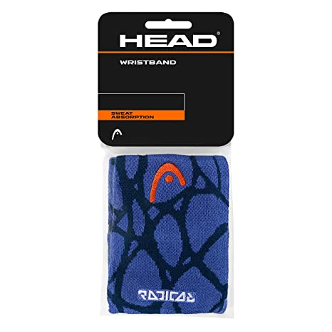 Head Unisex - Adultos Radical Wristband 5 Sudor Banda, Navy/Blue, One Size