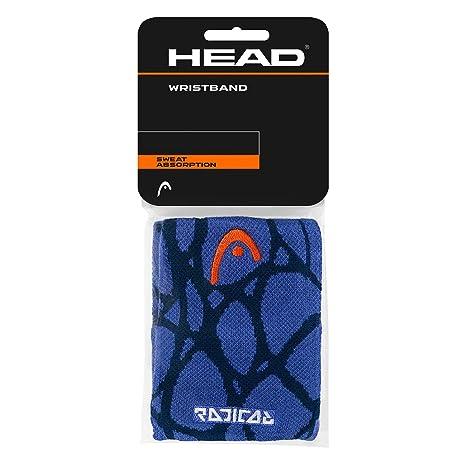 Head Unisex - Adultos Radical Wristband 5 Sudor Banda, Navy/Blue, One Size