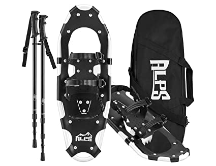 Alps All Terrian Snowshoes For Men Women Adult Kids With Free