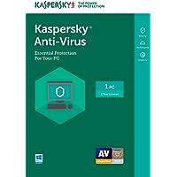 Kaspersky Anti-Virus 2017 | 1 Device | 1 Year | Download [Online Code]