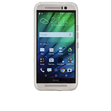 Case-Mate Barely There - Funda para HTC One M9, transparente ...