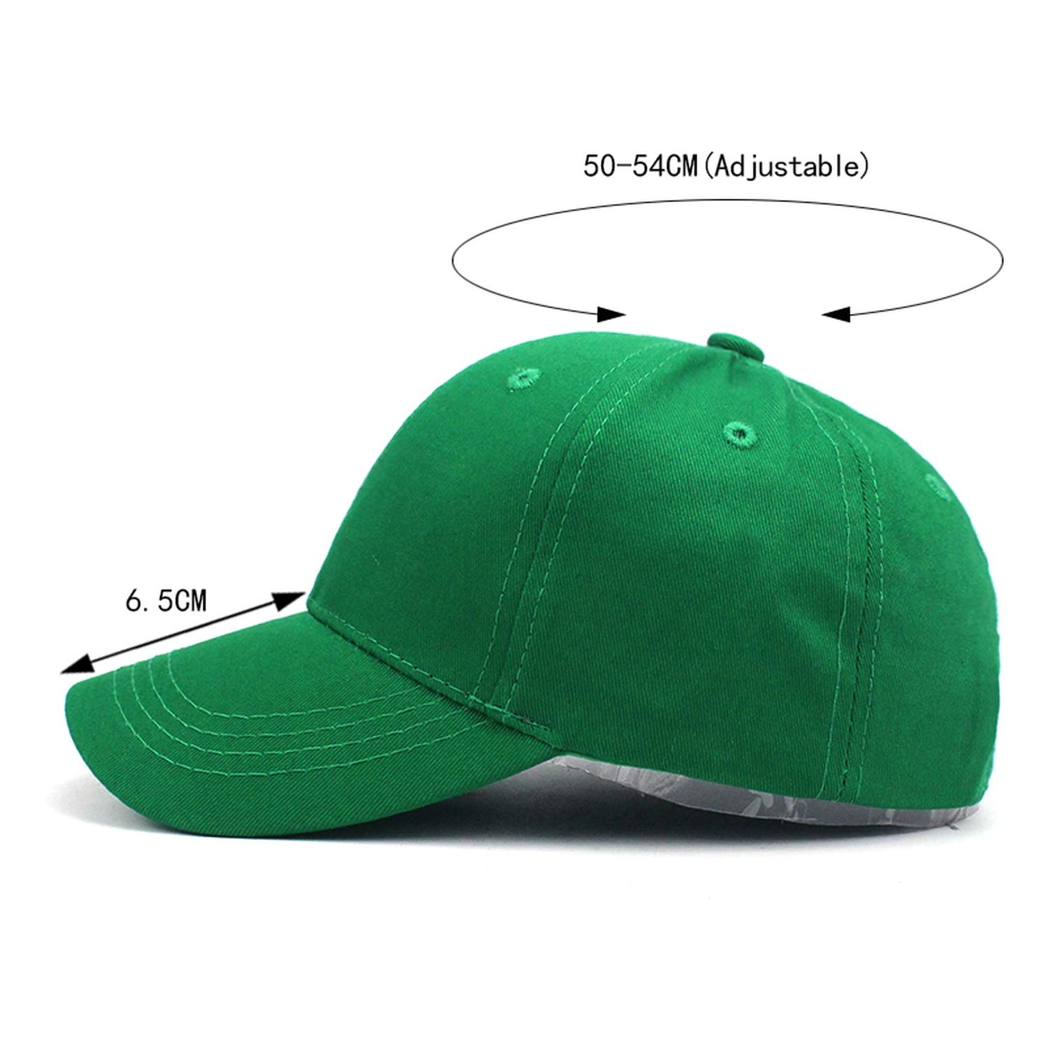 Kids Solid Color Children Snapback Caps Baseball Cap with Spring Summer Hip Hop Boy Girl Baby Hats