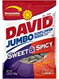 David Seeds Jumbo Sunflower, Sweet and Spicy, 5.25 Ounce (Pack of 12)