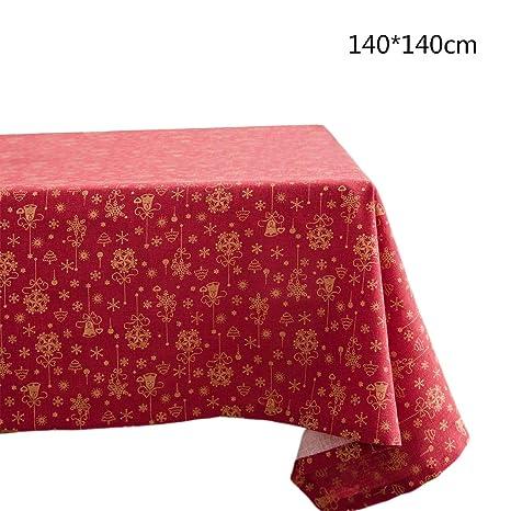 zijianZZJ - Funda de cojín rectangular de Navidad, diseño de ...