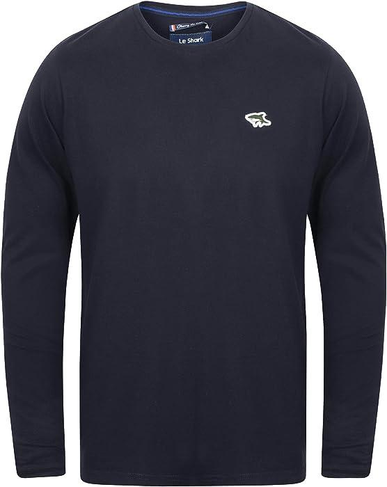 c01ec138564d Le Shark Lambeth 2 Crew Neck Long Sleeve Top in True Navy S: Amazon.co.uk:  Clothing