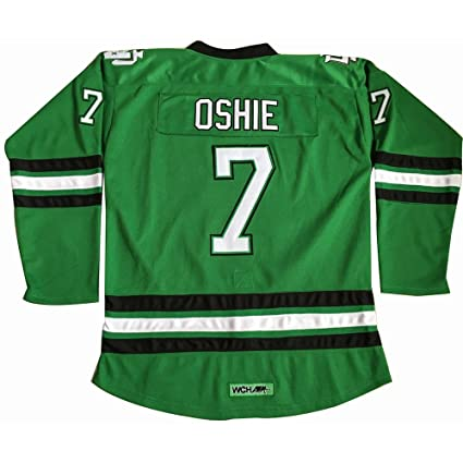Amazon.com   TJ Oshie 7  North Dakota Fighting Sioux Jersey ... 08f95b7d814