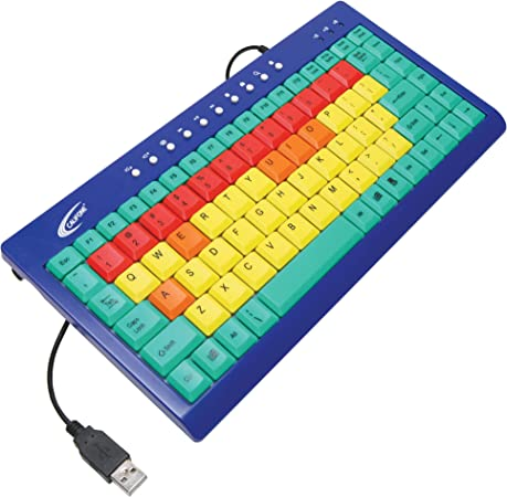 Ergoguys Califone Kids Keyboard - Teclado (USB, Juego, QWERTY ...