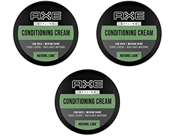 Amazon Com Axe Natural Look Hair Cream Understated 2 64 Oz 3 Pack Hair Styling Creams Beauty