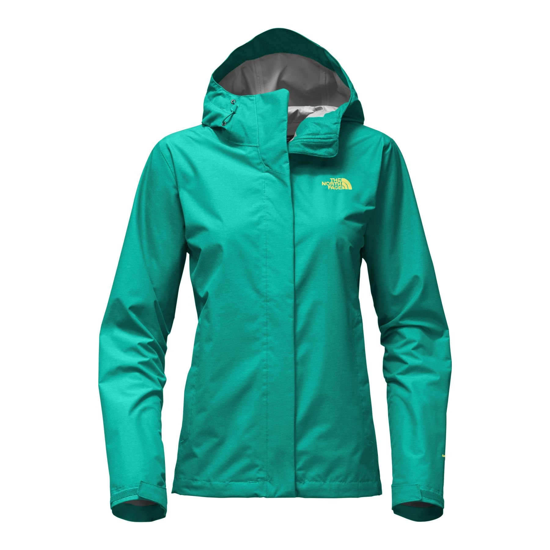 The North Face Women's Venture 2 Jacket Pool Green Heather - 3XL