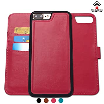 coque iphone 8 cuir rouge