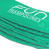 8ft, 10ft, 12ft and 14ft Replacement Round Trampoline Spring Cover Padding (Better Quality. Thicker and Wider) Two Beautiful Shades of Green Available