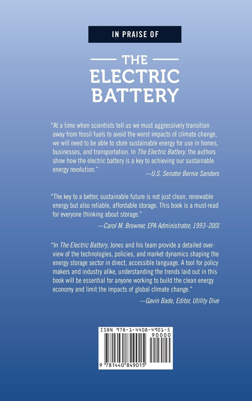 The Electric Battery: Charging Forward to a Low-Carbon