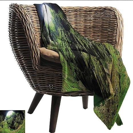 Anshesix - Manta de sofá Natural con diseño de caverna latente de ...