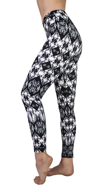 d6f5a71c5b2394 Amazon.com: 90 Degree By Reflex - Performance Activewear - Printed Yoga  Leggings: Clothing