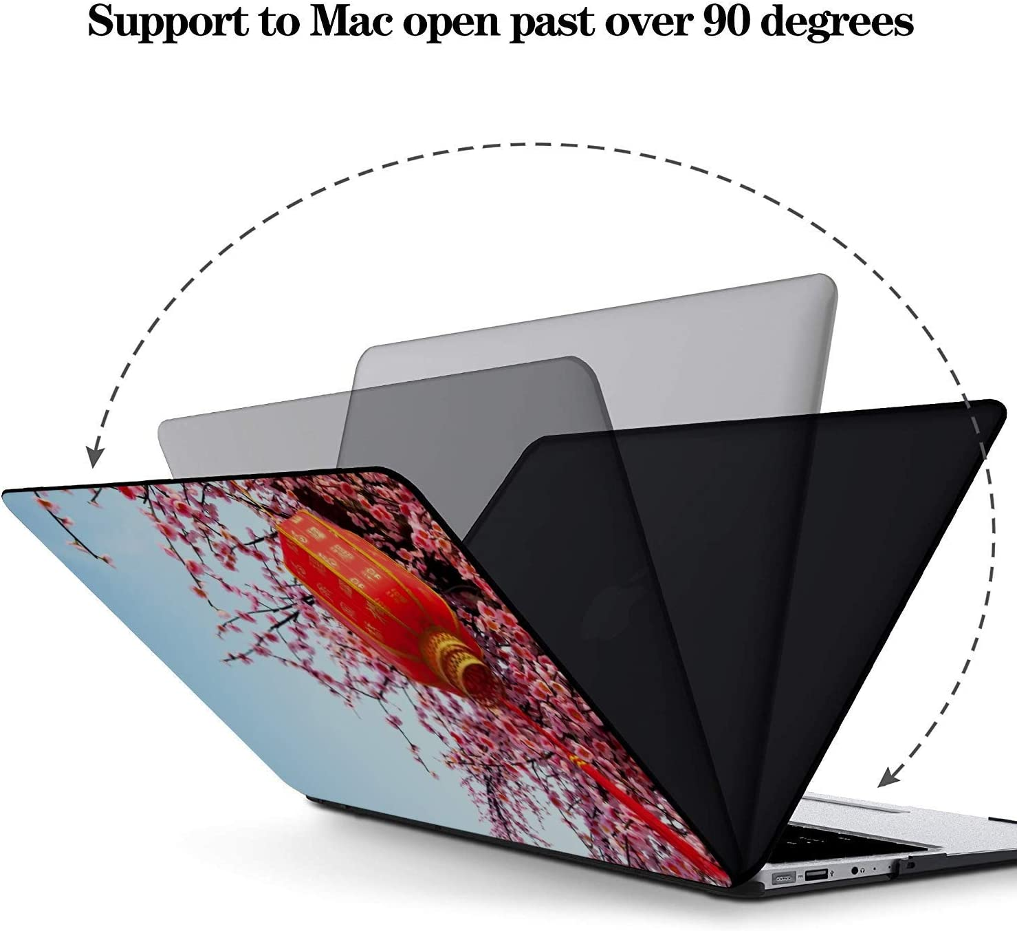 MacBook Pro Case Chinese New Year Decoration Traditional Lantern MacBook Retina 12 A1534 Plastic Case Keyboard Cover /& Screen Protector /& Keyboard C