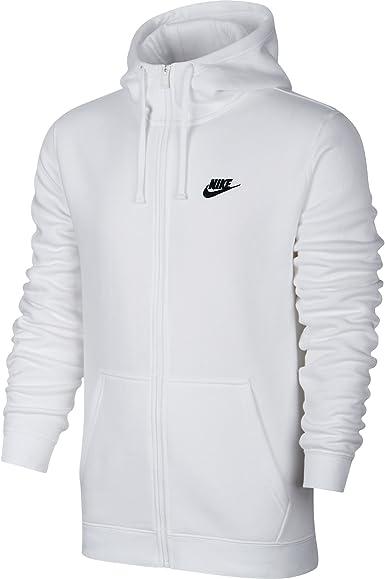 Nike M NSW Hoodie FZ FLC Club - Sudadera Hombre: Amazon.es ...