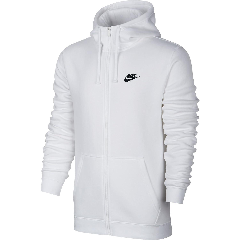 dacd7722bd227 Nike M NSW Hoodie FZ FLC Club Sweat, Homme  Amazon.fr  Sports et Loisirs
