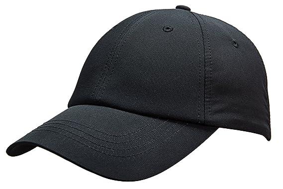 847ecff3c9 MIERSPORTS Unisex Running Golf Sports Hat Water-Resistant Baseball Cap,  Black