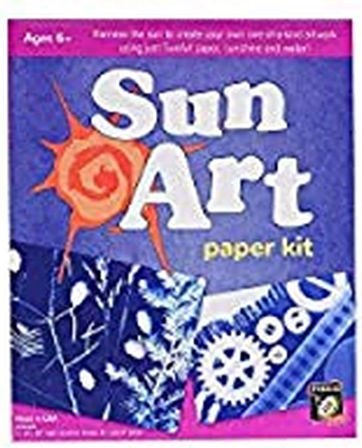 Tedco Solar Drawing Paper Art Kit, 8 X 10 Paper, 12 Sheets