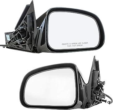 Right Passenger Side For 2004-2008 Pontiac Grand Prix Black Mirrors Power Heated