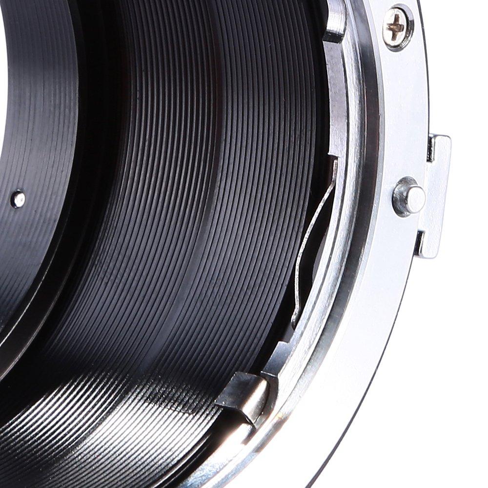 Adaptador Nikon-NEX K/&F Concept Adaptador de Lente con Tr/ípode Mount para Montar Nikon AI//F Mount a la C/ámara Sony E-Mount para Sony A7 A6000 A6300 A6500 A5000 A5100 NEX 7 NEX 5 NEX 5N 6 3N
