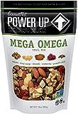 Power Up Trail Mix, Mega Omega Trail Mix, Non-GMO, Vegan, Gluten Free, No Artificial Ingredients, Gourmet Nut, 14 oz Bag…
