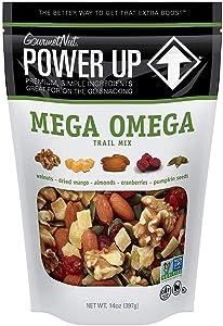 Power Up Trail Mix, Gourmet Nut, Bag, Mega Omega, 14 Ounce