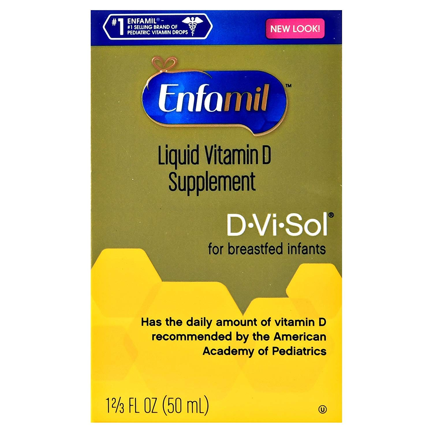 Enfamil D-vi-sol, Vitamin D 50 ml (Pack of 2) Carrier to shipping international usps, ups, fedex, dhl, 14-28 Day By Dragon Shopping