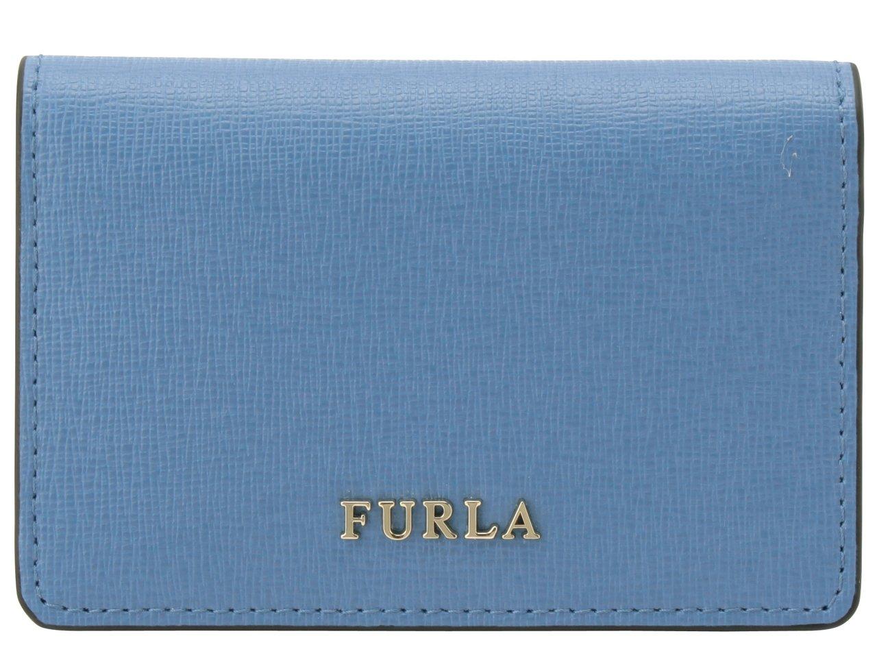 (フルラ) FURLA カードケース 名刺入れ バビロン BABYLON S BUSINESS レザー [並行輸入品] B07DR8HV1X ライトブルー ライトブルー