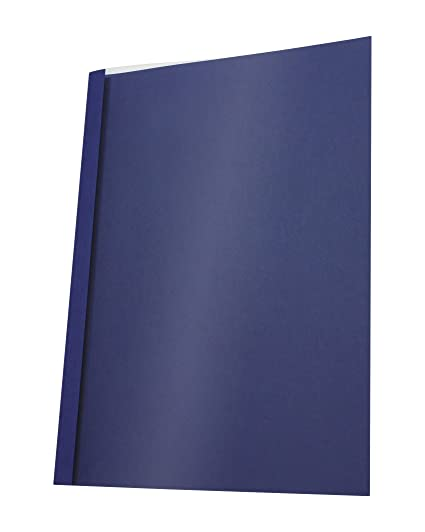 dunkelblau 3,0 mm Thermobindemappen Bindemappen