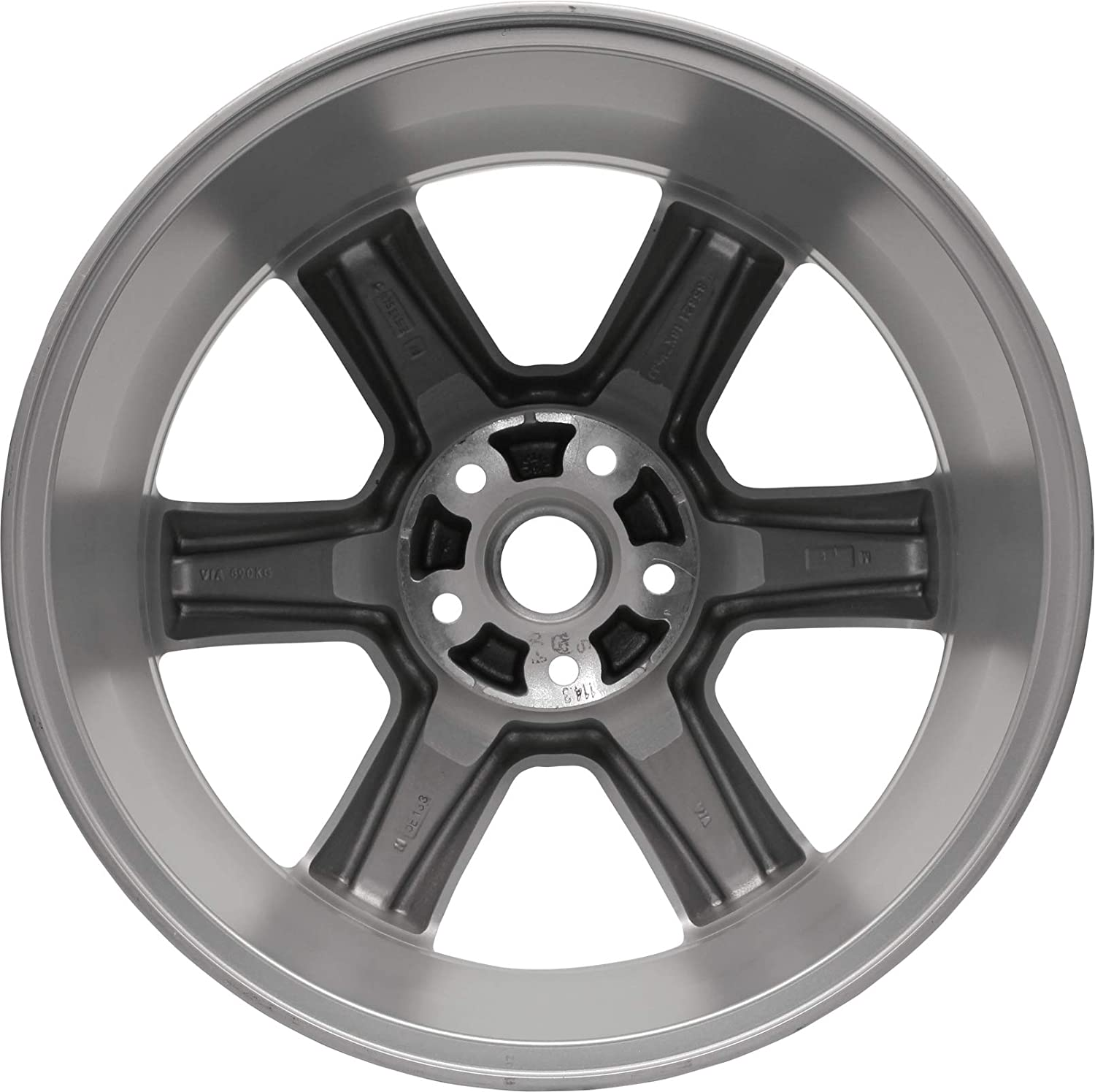 Partsynergy Replacement For New Aluminum Alloy Wheel Rim 18 Inch Fits 2003-2005 Nissan Murano 5-115mm 10 Spokes