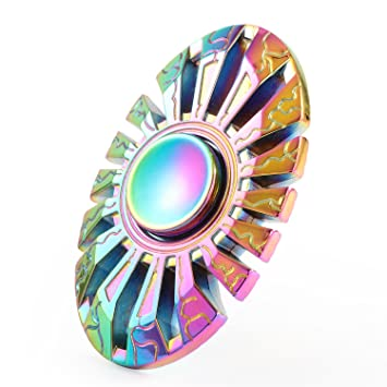 Amazon Fidget Spinner Magicfly Metallic Hand EDC Finger Toy Ultra Fast Bearings Great Gift For ADD ADHD Autism Adult ChildrenMetal