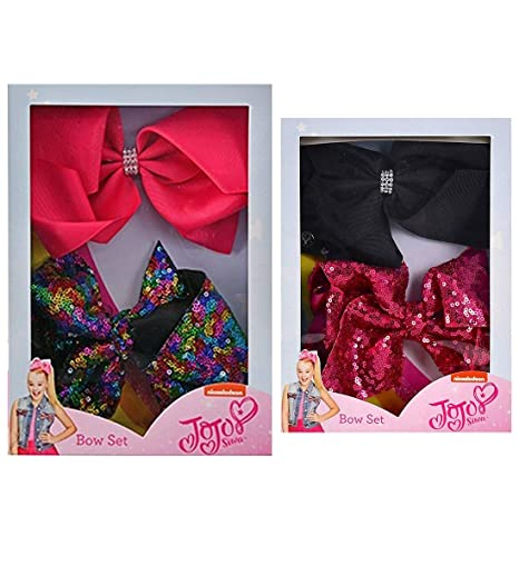 Amazon com: Mozlly Value Pack - Nickelodeon JoJo Siwa Satin