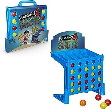 Hasbro Juegos niños – 4 Gaming – Potencia 4 Shots – Juego de ...