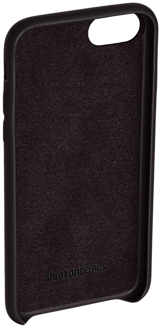 8cfbabe1133 AmazonBasics Slim Case for iPhone 8   iPhone 7 - Black  Amazon.in   Electronics
