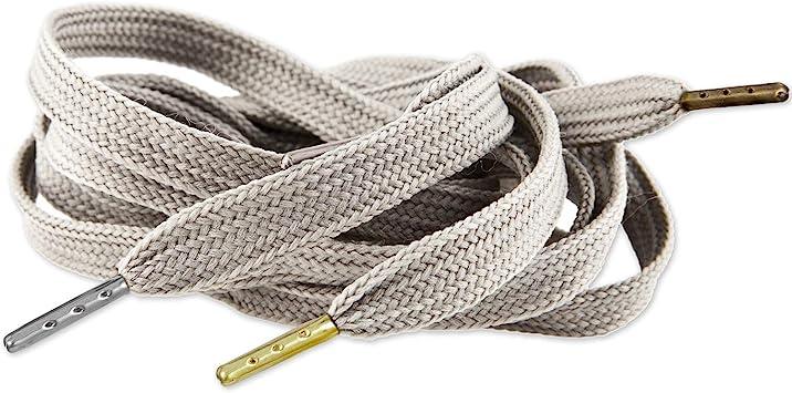 Silver 200 Pcs 4mm 20mm DIY Shoelace Flat HeadMetal Ends Aglet Repair Shoe Lace Tips Replacement