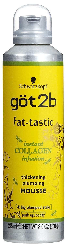 got2b fat-tastic Instant Collagen Infusion Mousse, 8.5 Ounces 372201