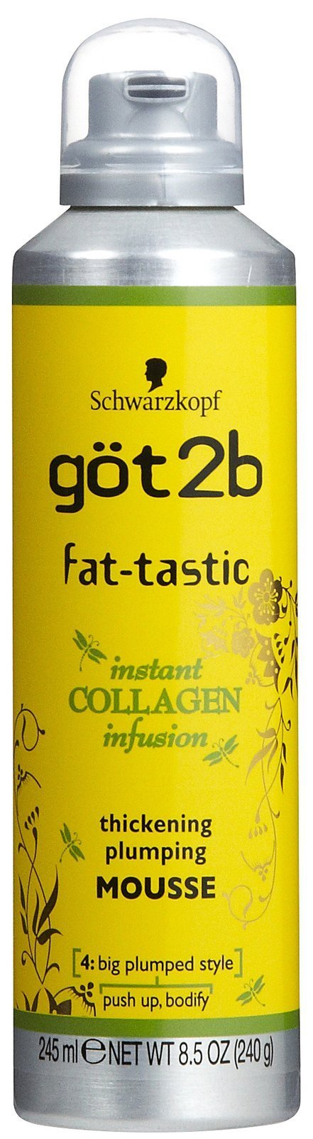 got2b fat-tastic Instant Collagen Infusion Mousse, 8.5 Ounces