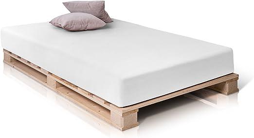 Paletti Palettenbett Massivholzbett Holzbett Bett Aus