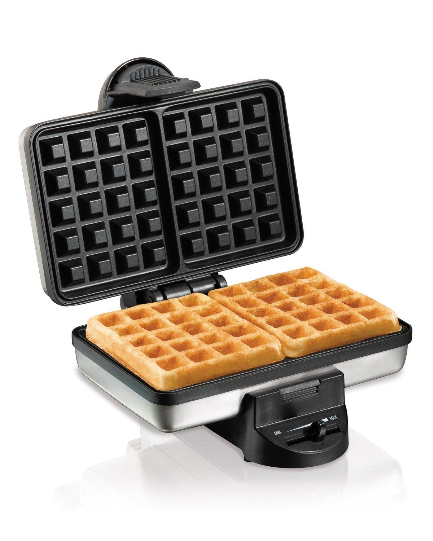 Amazon Com Hamilton Beach Belgian Waffle Maker 26009 Renewed