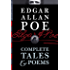 Edgar Allan Poe: Complete Tales & Poems (Illustrated/Annotated) (Top Five Classics Book 13) (English Edition)
