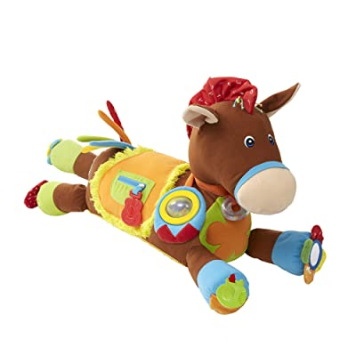 Melissa & Doug Giddy-Up and Play Baby Activity Toy - Multi-Sensory Horse: Melissa & Doug: Toys & Games [5Bkhe0404648]