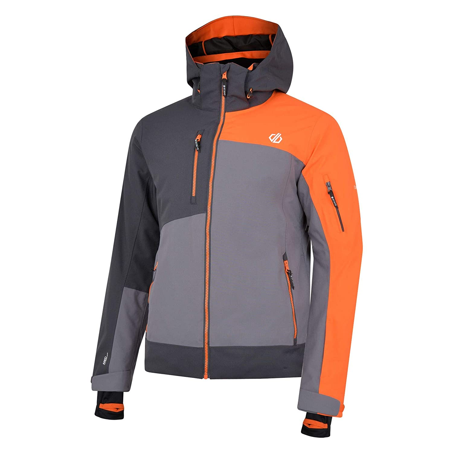 Hombre Dare 2b Travail Pro Waterproof /& Breathable High Loft Insulated Ski /& Snowboard Jacket with Detachable Hood and Snowskirt Chaquetas aislantes Impermeables